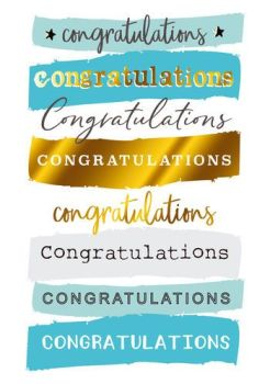Gorgeous Congratulations Card - CONGRATULATIONS - Fun Congratulations CARDS - Celebration CARDS