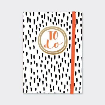 A6 Notebooks - BLACK & WHITE Design NOTEBOOK - A6 Pocket NOTEBOOK - Funky TO DO NOTEBOOK - Buy A6 NOTEBOOKS Online - Lined NOTEBOOK - Gifts FOR Her