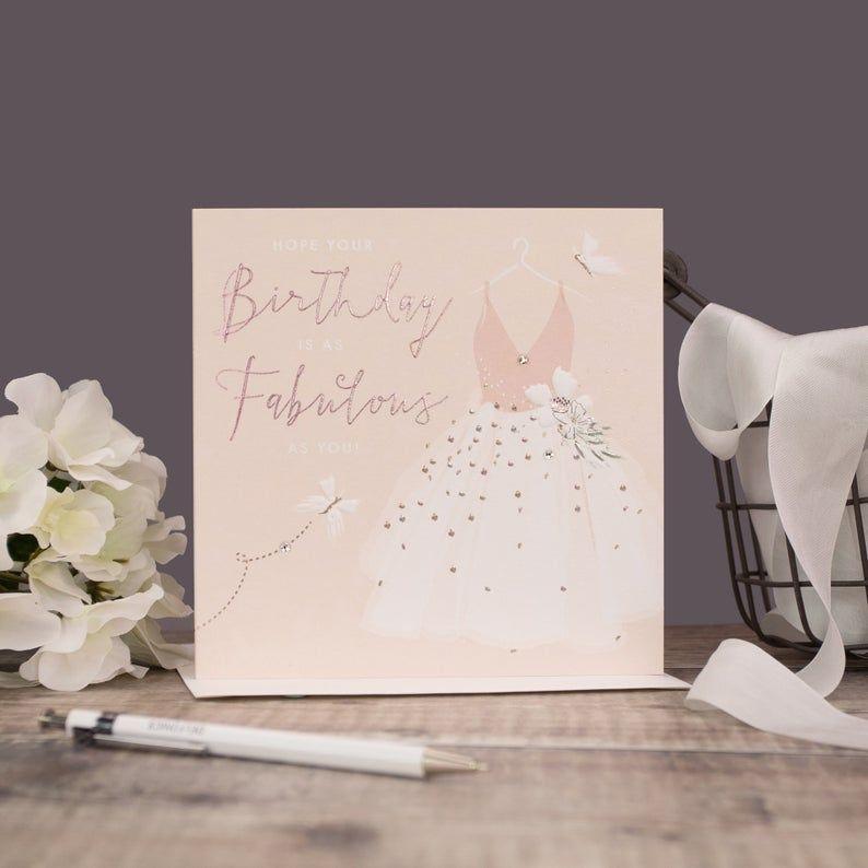 Fabulous Birthday Cards - PRETTY Birthday Cards - As FABULOUS As YOU - Birt