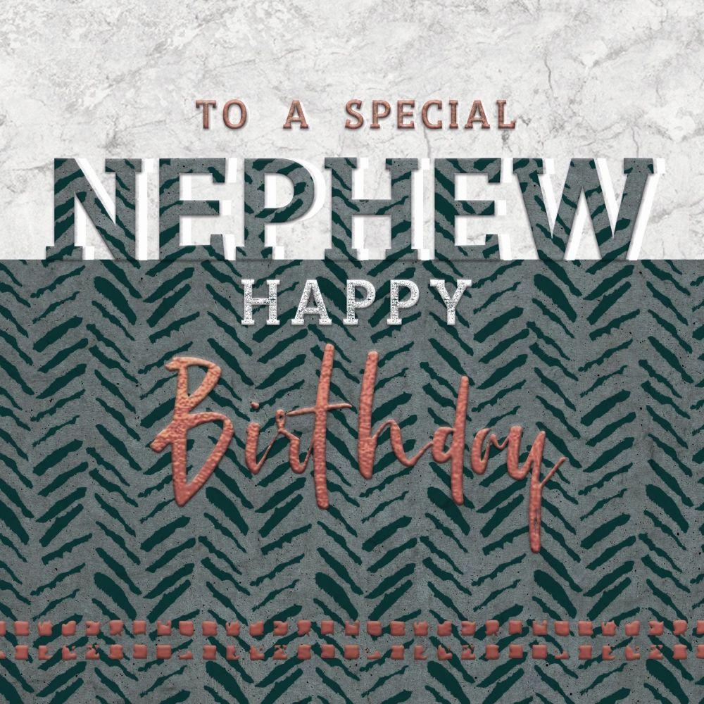 Special Nephew Birthday Cards - HAPPY BIRTHDAY - Birthday CARDS For NEPHEW
