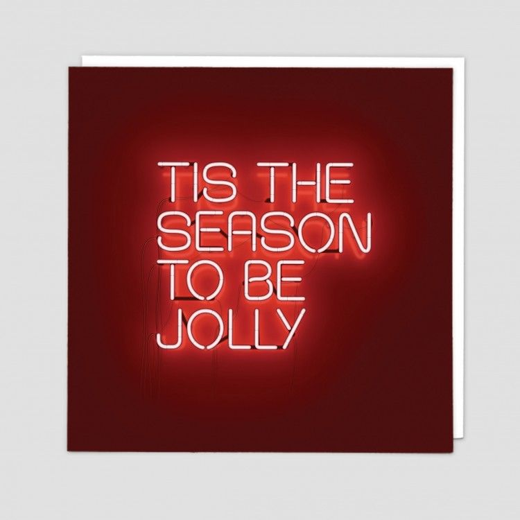 Christmas Cards - TIS The SEASON To Be JOLLY - Xmas CARDS - Online GREETING