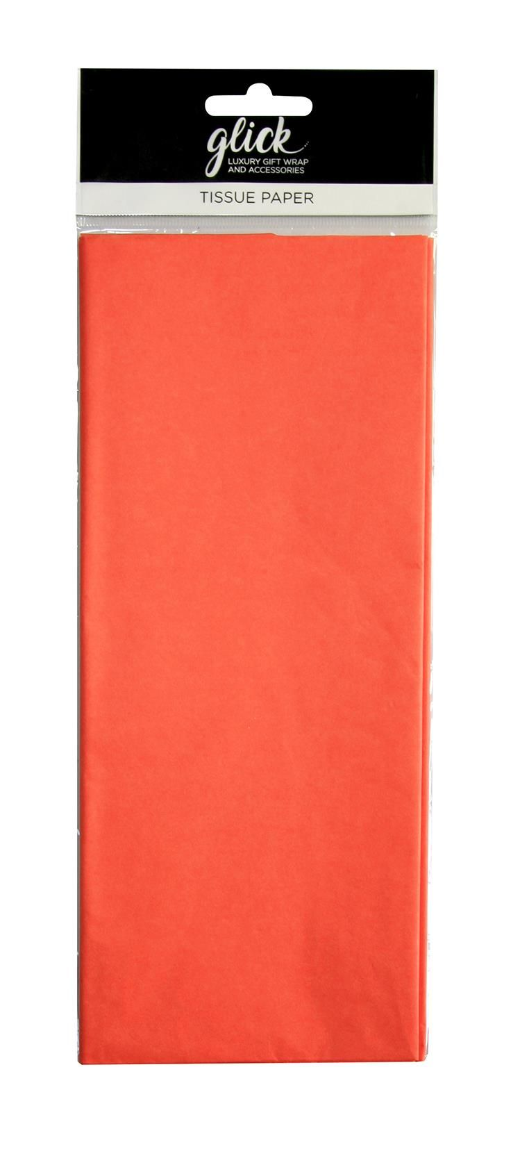 Orange Luxury Tissue Paper - Pack Of 4 - Luxury TISSUE Paper - GIFT Wrappin