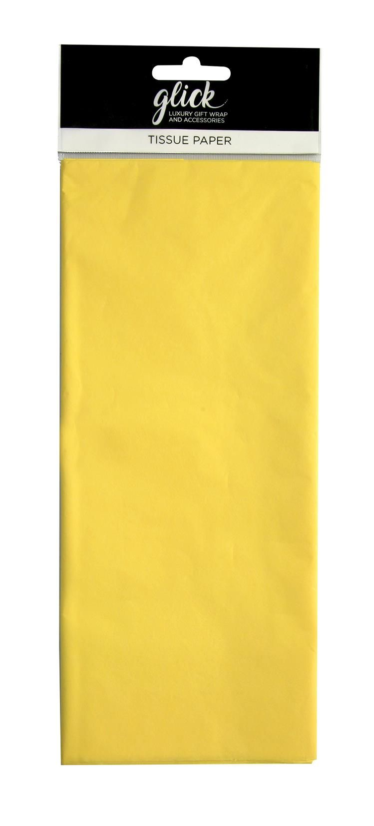 Lemon Luxury Tissue Paper - Pack Of 4 - Luxury TISSUE Paper - GIFT Wrapping