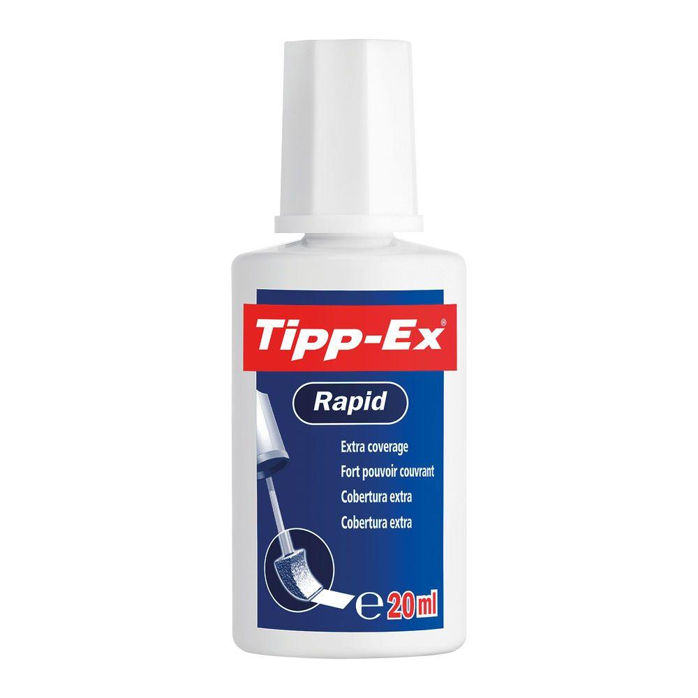 Tipp-Ex Correction Fluid Rapid White 20 ml - CORRECTION Fluid - TIPP-EX - T