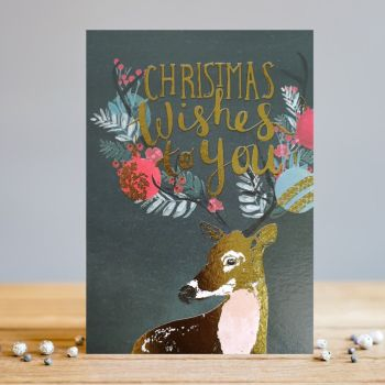 Christmas Cards - CHRISTMAS Wishes To YOU - Christmas DEER - Deer CHRISTMAS Cards - CHRISTMAS Cards FOR SOMEONE Special - CHRISTMAS Cards For FRIENDS