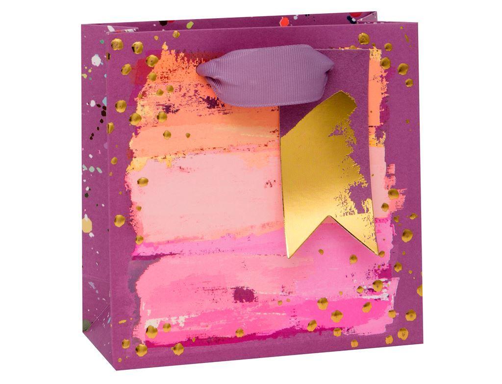 Painterly Purples Gift Bag - Small CELEBRATORY Gift BAG - GIFT Bags - PREMI