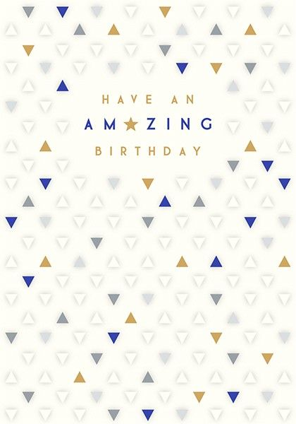 Old Age Birthday Cards For HIM - It's NOT Grey HAIR It's EXPERIENCE - Funny