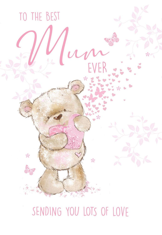 To The Best Mum Ever Birthday Card - MUM Birthday CARDS - BIRTHDAY Cards Fo