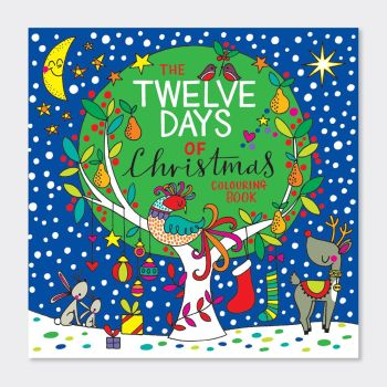 Christmas Colouring Book - 12 DAYS OF CHRISTMAS - CHRISTMAS Colouring FUN - KIDS Colouring BOOKS - Christmas GIFTS For CHILDREN - Colouring Books