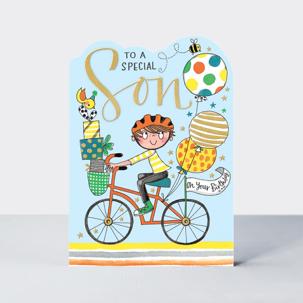 Special Son Birthday Cards - To A SPECIAL Son On Your BIRTHDAY - Children's
