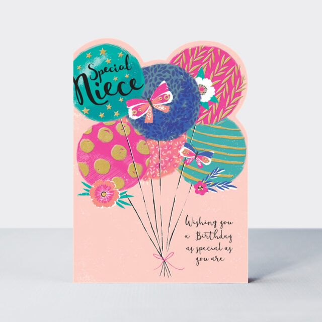 Special Niece Birthday Card - WISHING You A BIRTHDAY As SPECIAL As YOU Are