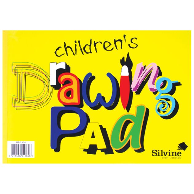 Children's Drawing Pad - A4 DRAWING Paper - Childrens DRAWING Paper - KIDS
