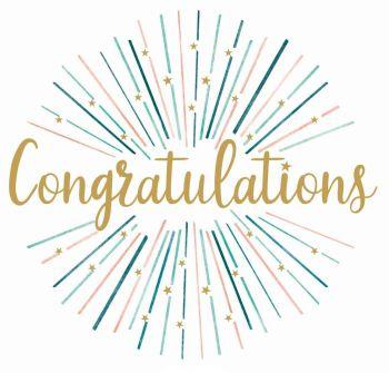 Large Congratulations Card - CONGRATULATIONS - Gold Congratulations CARD - STRIKING Congratulations CARD - CONGRATULATIONS Cards FOR Success
