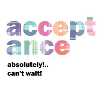 RSVP Acceptance Cards - ABSOLUTELY Can't WAIT - WEDDING Acceptance WEDDING Cards - COLOURFUL Acceptance CARD - Scottish WEDDING Acceptance CARDS