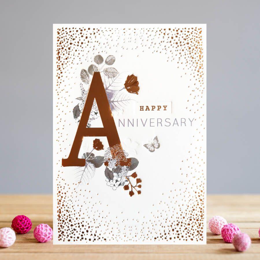 happy anniversary  anniversary cards  beautiful copper