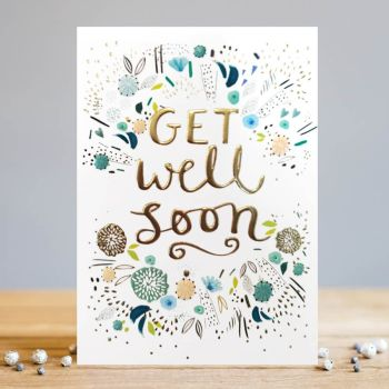 Get Well Soon Cards - GET Well SOON - Pretty FLORAL Greeting Card - GET Well CARDS - Get WELL Wishes - GET Well CARDS ONLINE