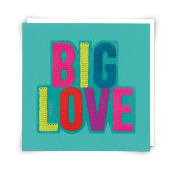 Big Love Birthday Cards - BIG LOVE - Birthday CARDS For HER - SEQUIN Birthdays Cards - FUN Birthday CARDS - Birthday CARDS Online