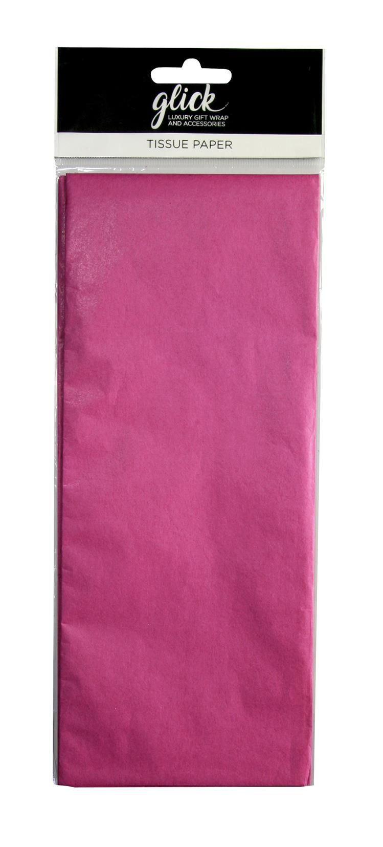 Hot Pink Luxury Tissue Paper - Pack Of 4 LARGE Sheets - Luxury TISSUE Paper