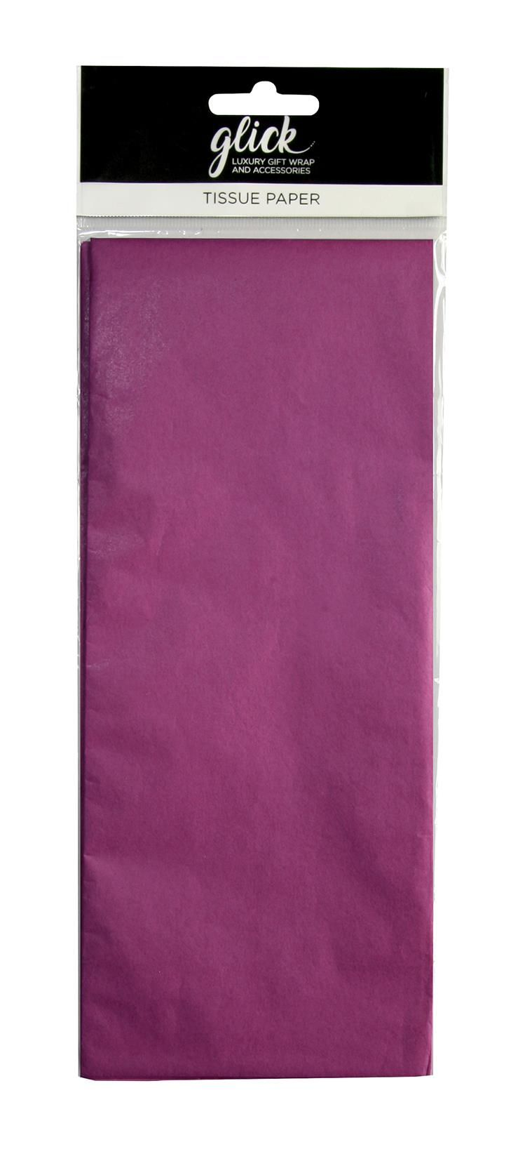 Fuschia Luxury Tissue Paper - Pack Of 4 LARGE Sheets - Luxury TISSUE Paper