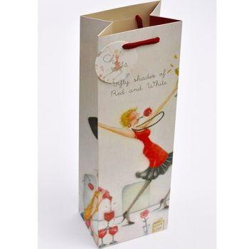 Sassy Female Bottle Gift Bag - WINE & Bottle GIFT Bags - BOTTLE Gift BAGS - FUNNY Wine BOTTLE BAG - Gift WINE Bag - Bottle BAGS & Wine GIFT Bags