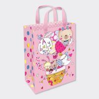 New Baby Girl Gift Bag - MEDIUM PORTRAIT Gift Bags - GIFT BAGS ‐ BABY Shower GIFT Bags - LUXURY New BABY Girl Gift BAGS