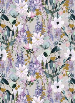 Buddleia Wrapping Paper - 2 SHEETS Of LUXURY Gift WRAP - RECYCLABLE Wrapping Paper - Flat WRAP - MOTHER'S Day - BIRTHDAY Gift WRAP - Floral GIFT Wrap