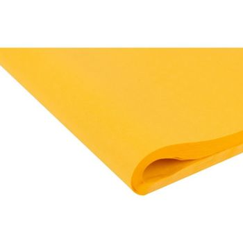 Harvest Yellow Tissue Paper - Pack Of 4 - SMALL Recycled TISSUE Paper - GIFT Wrapping - YELLOW Tissue PAPER - CERISE Tissue Paper - ARTS & Crafts
