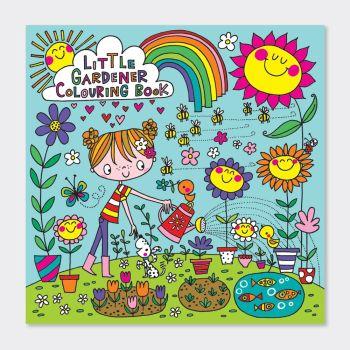 Little Gardener Colouring Books - Children's GARDENING Colouring BOOK - Kids COLOURING Books - GIRLS COLOURING Books - COLOURING Book FOR GIRLS