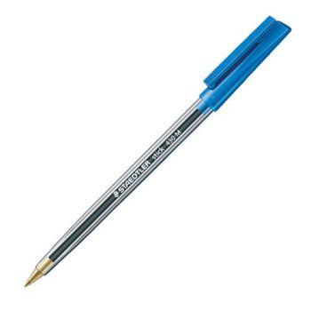 Blue Biro Pens - PACK Of 5 - Staedtler STICK PEN - Blue BALLPOINT Pens - BALLPOINT Pens - OFFICE Stationery - PENS Online