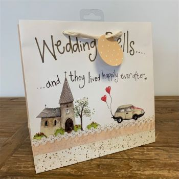 They Lived Happily Ever After Gift Bag - WEDDING Gift BAGS - Medium GIFT BAGS - Luxury WEDDING Gift BAG - Gift BAGS For A WEDDING