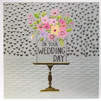 On Your Wedding Day - WEDDING Cards - Wedding CAKE Greeting Cards - UNIQUE Cards FOR Wedding - LUXURY Wedding CARDS