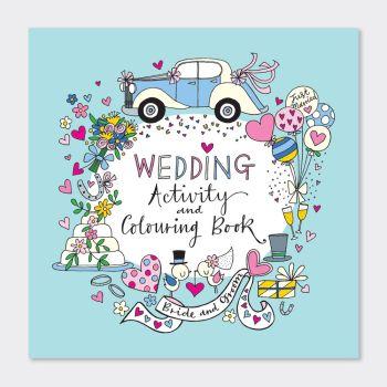 Wedding Activity Book - KIDS Wedding Colouring Book - Children's WEDDING Activity & Colouring BOOKS - WEDDING Activities FOR KIDS