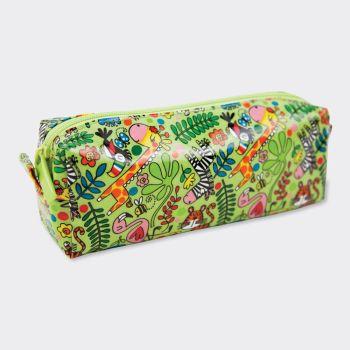 Jungle Pencil Cases - FRIENDLY Jungle ANIMALS Pencil CASE - SCHOOL Pencil CASES - KIDS Pencil CASES - KIDS STATIONERY