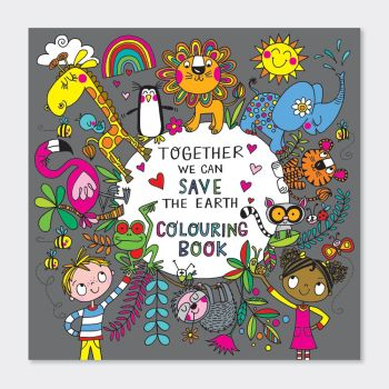 Colouring Books For Children - SAVE The EARTH Colouring BOOK - Kids COLOURING Books - TEACHING Children About RECYCLING Colouring BOOK