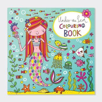 Colouring Books For Children - MERMAID Colouring BOOK - Kids COLOURING Books - UNDER The SEA COLOURING Book - CHILDREN'S Colouring BOOKS