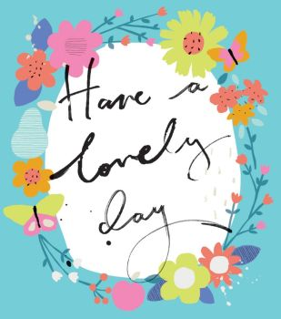 Have A Lovely Day - NOTE CARDS - MINI Note CARDS - PACK Of 6 - MINI Note Cards With ENVELOPES - Mini CARDS & ENVELOPES - Small CARDS For GIFTS