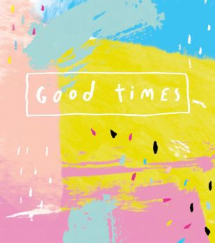 Good Times - NOTE CARDS - MINI Note CARDS - PACK Of 6 - MINI Note Cards With ENVELOPES - Mini CARDS & ENVELOPES - Small CARDS For GIFTS