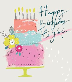 Happy Birthday To You - NOTE CARDS - MINI Note CARDS - PACK Of 6 - MINI Note Cards With ENVELOPES - Mini CARDS & ENVELOPES - Small CARDS For GIFTS