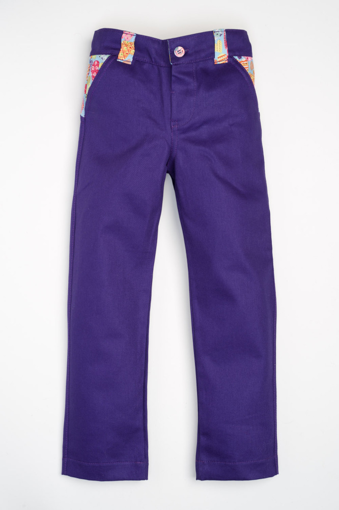 Sea, Sun and Fun Jeans - Purple and Blue Hearts