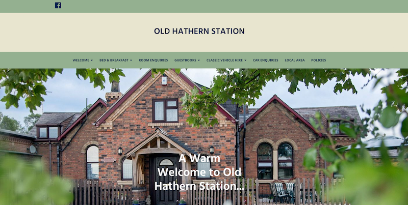 Old Hathern Station Website