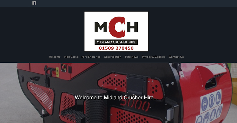Midland Crusher Hire logo