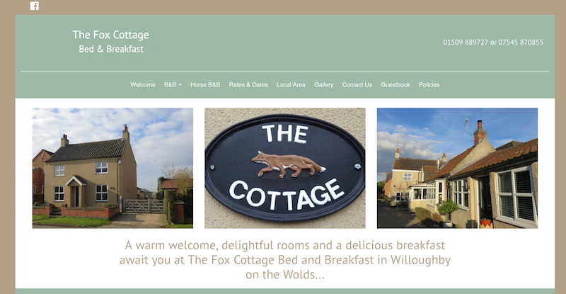 Fox Cottage Bed & Breakfast