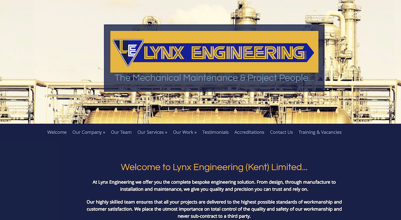 Lynx Engineering (Kent) Limited