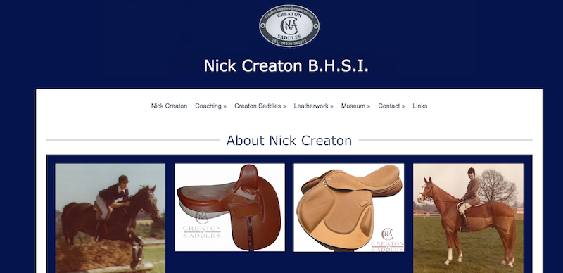 NIck Creaton Saddlery