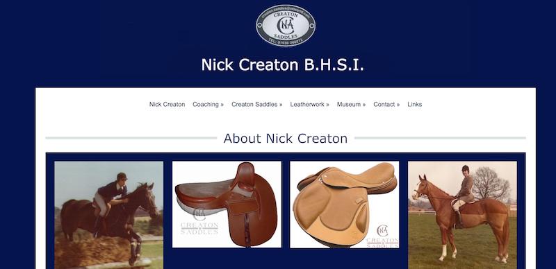 NIck Creaton Saddlery