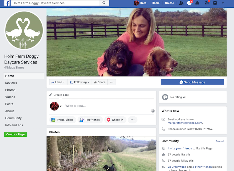 Holm Farm Doggy Daycare Facebook
