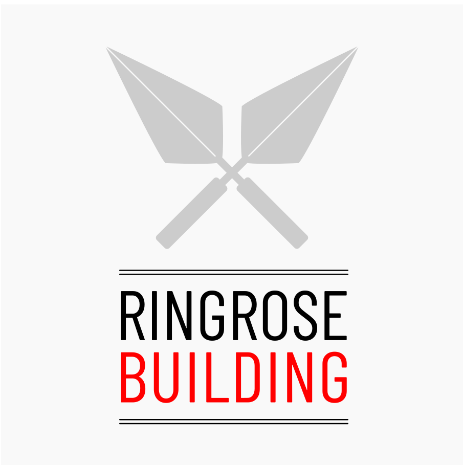 The white version of Ringrose Building Logo