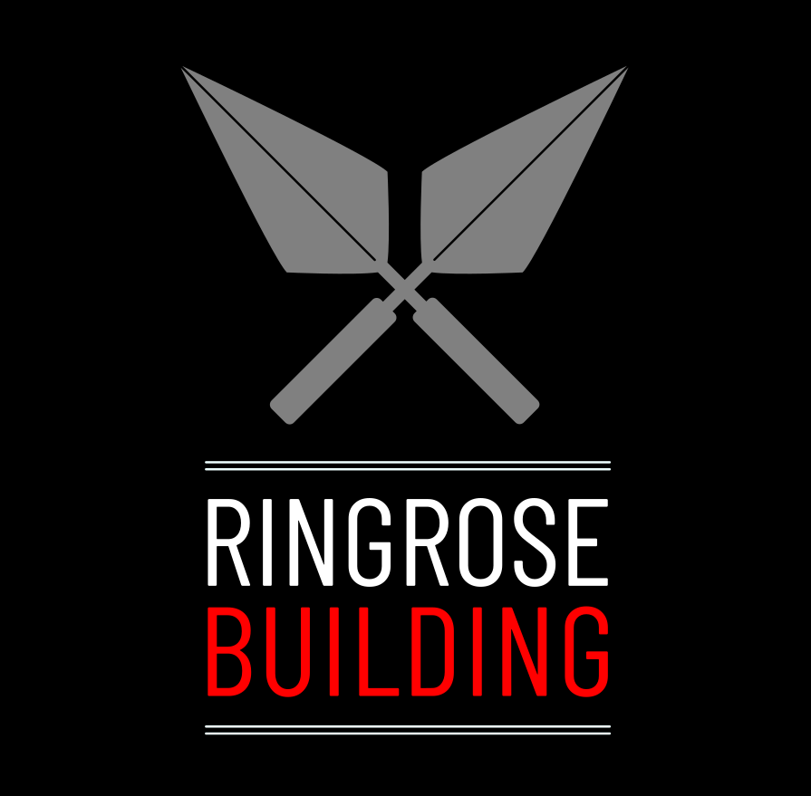 The black version of  Ringrose Building Logo