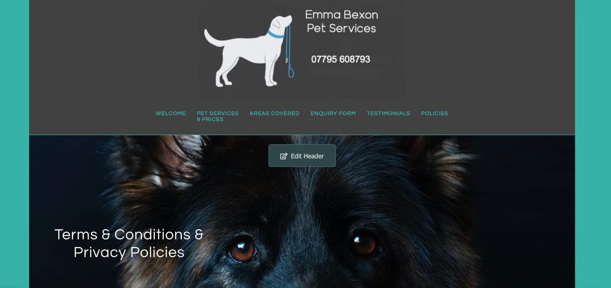 Emma Bexon Pet Services