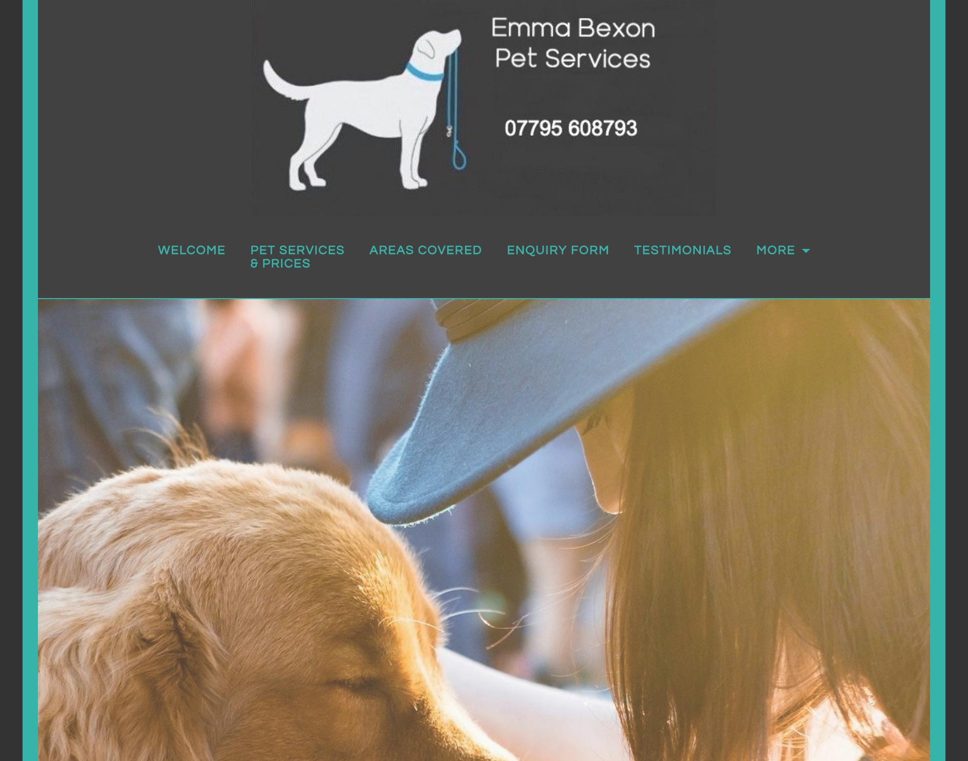 Emma Bexon Pet Services